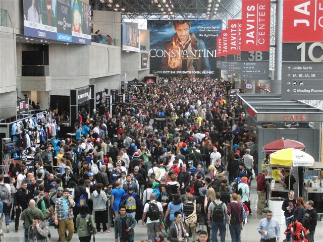 The mad rush for New York Comic Con begins on May 13, when tickets go on sale for the October event (photo by twi-ny/mdr)