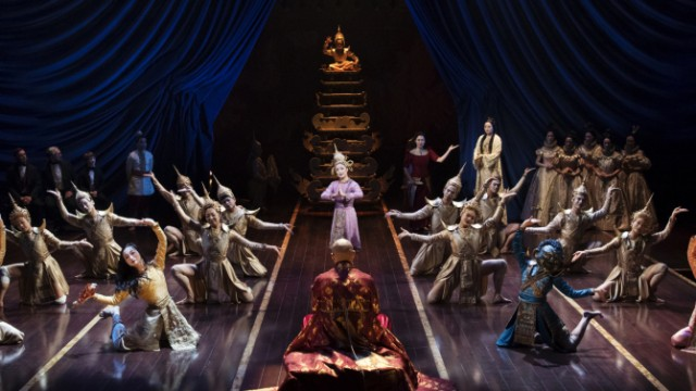 Rodgers and Hammerstein's THE KING AND I dazzles in every way at the Vivian Beaumont (photo by Paul Kolnik)