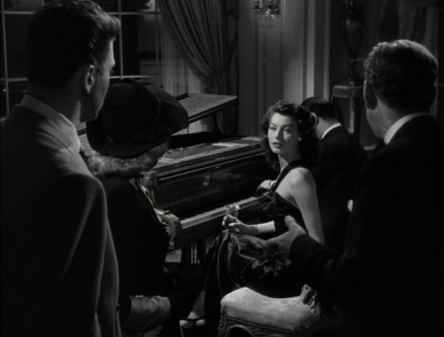 Ava Gardner turns more than a few heads in THE KILLERS