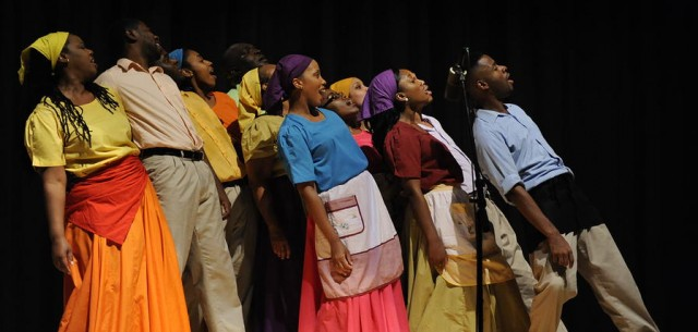 The Braata Folk Singers will help celebrate Caribbean Heritage at Brooklyn Museum on August 1 (photo © copyright Braata Productions)