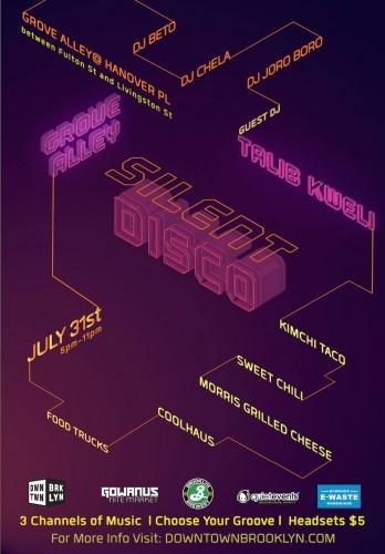 grove alley silent disco