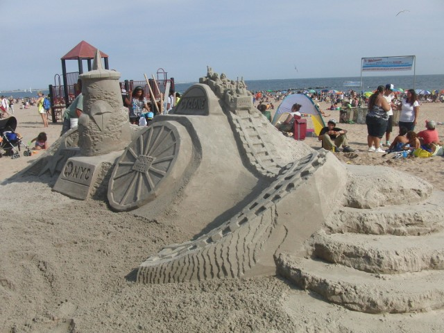 Twenty-fifth annual Sand Sculpting Contest takes place in Coney Island on Saturday (photo by twi-ny/mdr)