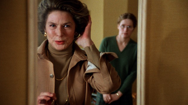 Ingrid Bergman makes sure everything is just right in her final film, AUTUMN SONATA