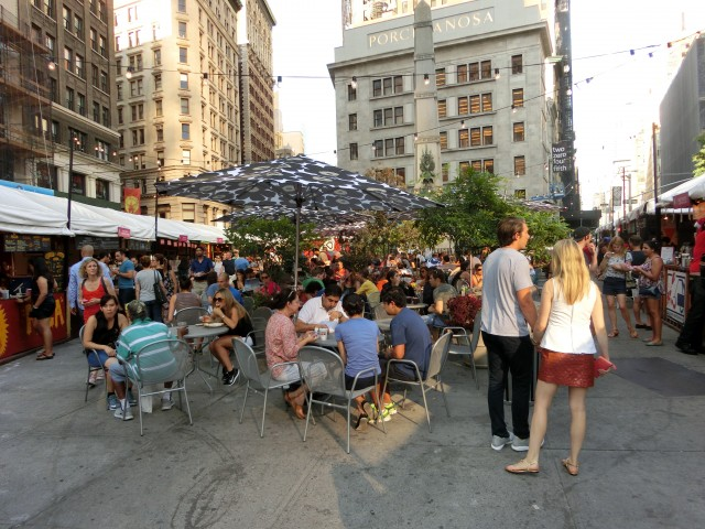 Fall edition of Mad. Sq. Eats continues through October 1 (photo by twi-ny/mdr)