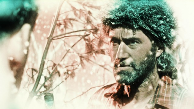 Roy Dupuis plays a heroic woodsman in Guy Maddin and Evan Johnsons unpredictably strange and wonderful homage to early cinema, THE FORBIDDEN ROOM
