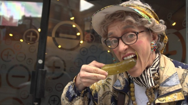 Fantasy Grandma Jane B will be joined by FG Myrtle J  and lots of other pickle lovers at annual celebration on the Lower East Side
