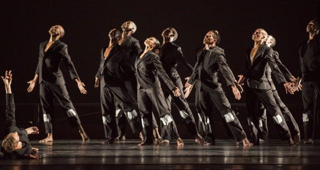 Alvin Ailey American Dance Theater in Robert Battle's NO LONGER SILENT (photo by Paul Kolnik)
