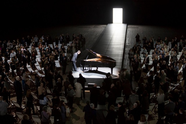 Igor Levit gives a performance for the ages at the Park Avenue Armory (photo by James Ewing)