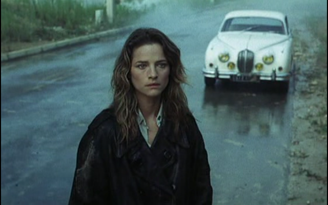 Charlotte Rampling is on the run in THE FLESH OF THE ORCHID