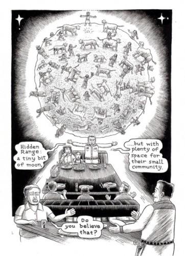 Legendary cartoonist Kim Deitch will discuss his current work-in-progress at NYC symposium