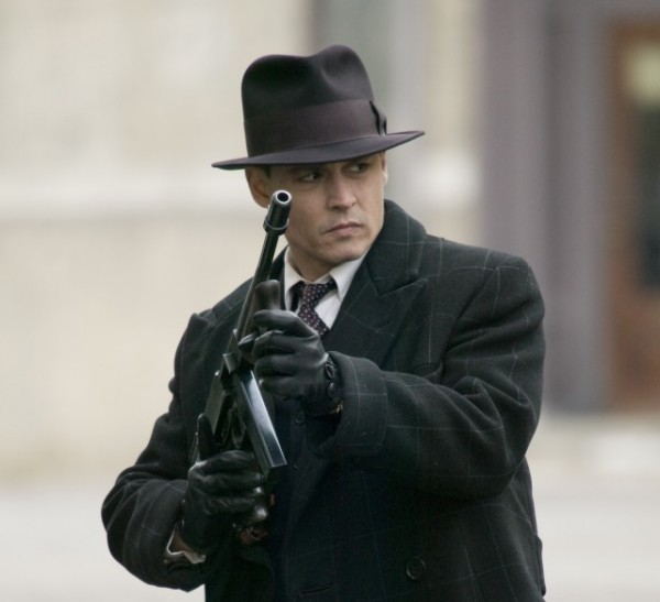 Johnny Depp stars as John Dillinger in Michael Mann's PUBLIC ENEMIES