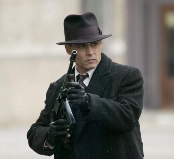 Johnny Depp stars as John Dillinger in Michael Mann's PUBLIC ENEMIES