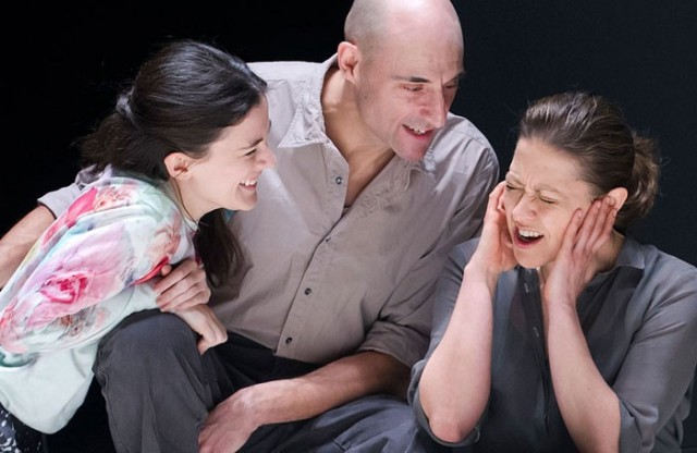 Phoebe Fox, Mark Strong, and Nicola Walker star as a family about to face some ugly truths in A VIEW FROM THE BRIDGE