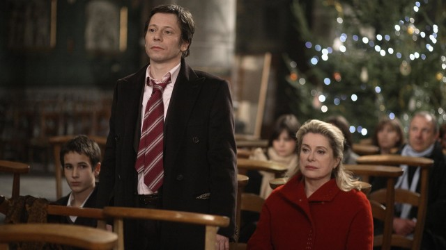 Mathieu Amalric and Catherine Deneuve star as siblings in a dysfunctional family in Arnaud Desplechins A CHRISTMAS TALE