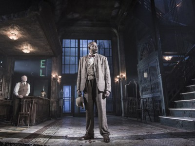 Forest Whitaker makes his return to the stage in HUGHIE (photo by Marc Brenner)