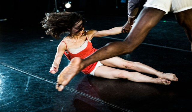 Rebecca Lazier makes NYLA debut with world premiere of THERE MIGHT BE OTHERS (photo by Maria Baranova-Suzuki)