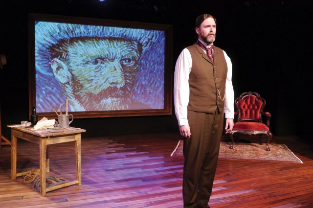 James Briggs stars as Theo van Gogh in revival of Leonard Nimoy's VINCENT at the Theatre at St. Clement's