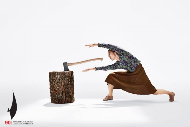 Mats Ek's AXE is part of Martha Graham Dance Companys ninetieth anniversary season (photo by Hibbard Nash Photography)
