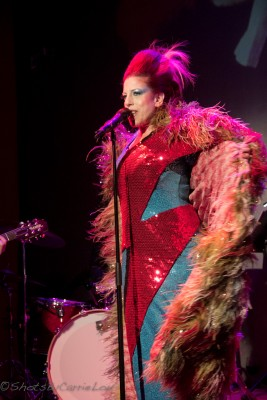 Raquel Cion brings her deeply personal David Bowie tribute to the Slipper Room April 21 and May 15