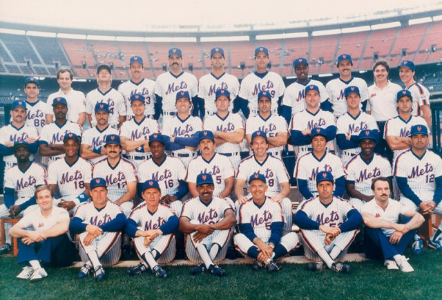 Many members of the 1986 championship New York Mets will be at Citi Field for special festivities this weekend