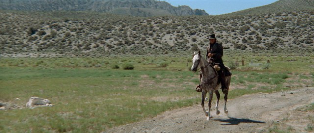 Clint Eastwood is a mysterious man with a plan as he gallops into Bryant Park on August 8 for a screening of HIGH PLAINS DRIFTER