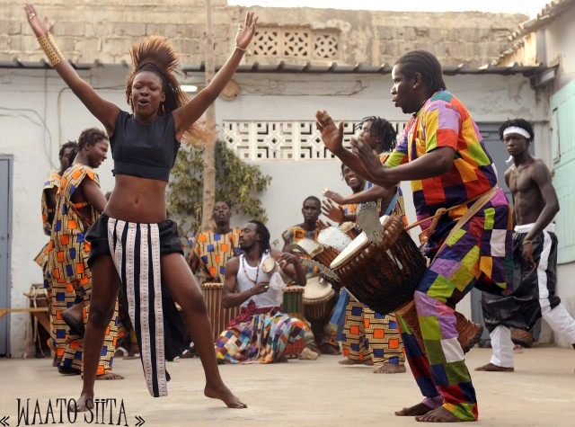 WAATO SiITA will be celebrating its native Senegal at DanceAfrica at BAM this weekend (photo courtesy of the artist)