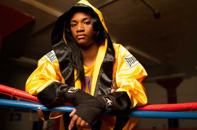 Claressa Shields displays the grit and determination to become a champion in T-REX