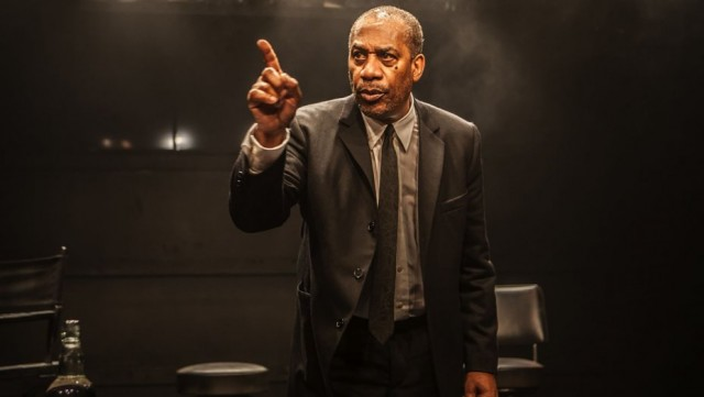 Dick Gregory (Joe Morton) has been pointing his finger at Americas ailments for more than fifty years (photo by Monique Carboni)