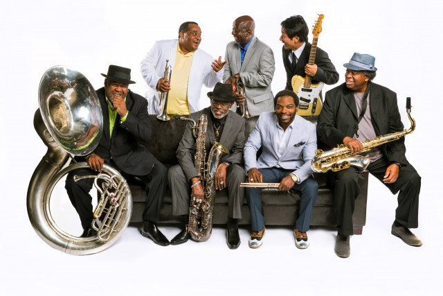 The Dirty Dozen Brass Band will headline the seventeenth annual Hudson River Park Blues BBQ on August 20