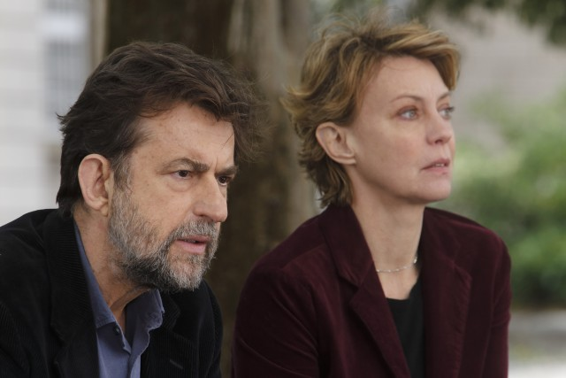 Nanni Moretti and Buy play siblings dealing with an ailing mother in MIA MADRE