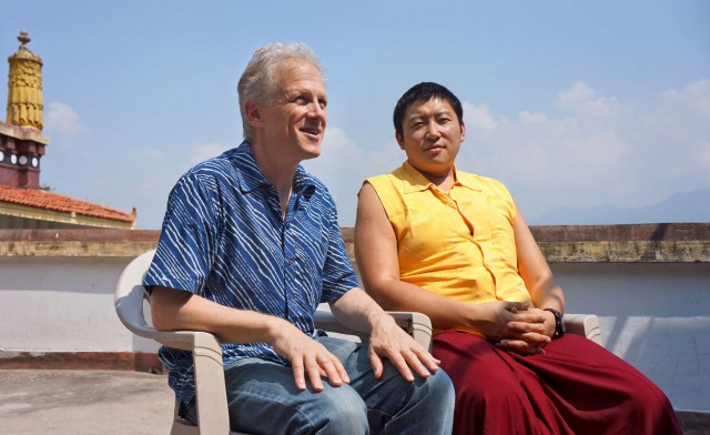 Erric Solomon and Kyabgön Phakchok Rinpoche will discuss the keys to being radically happy at the Helen Mills Theater on September 7