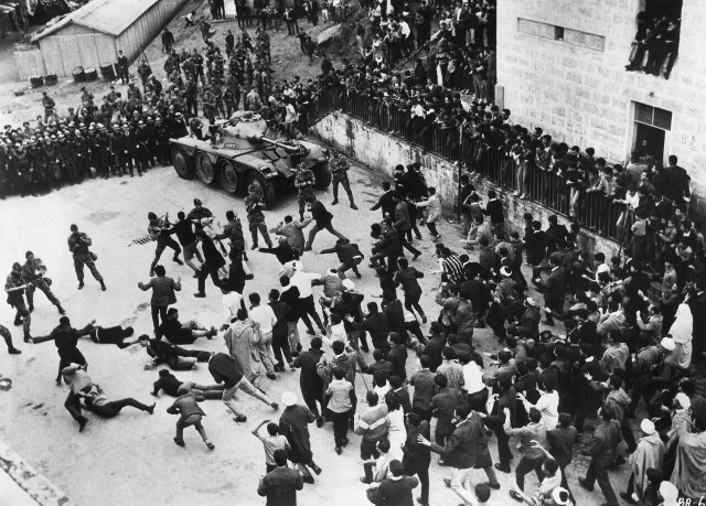 Terrorism and counterinsurgency take to the streets in Oscar-nominated THE BATTLE OF ALGIERS