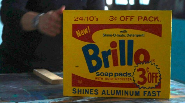 "Documentary follows the provenance of one specific Andy Warhol ""Brillo Box"""