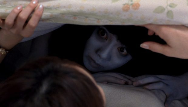 There is something under the bed and everywhere else in JU-ON: THE GRUDGE