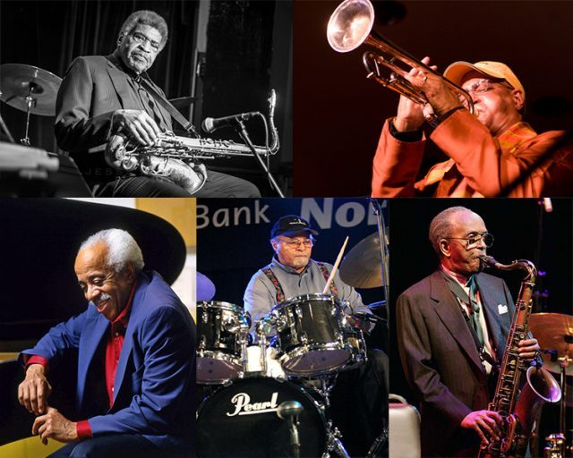 Five NEA Jazz Masters will join forces for an all-star show at Flushing Town Hall