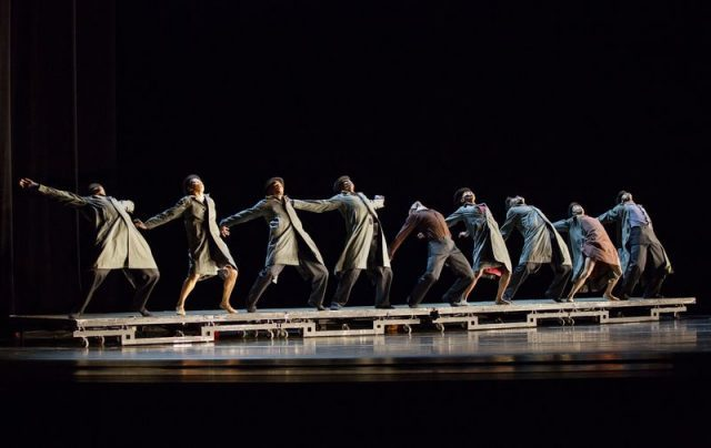 Alvin Ailey winter season at City Center includes company premiere of Johan Ingers WALKING MAD (photo by Paul Kolnik)