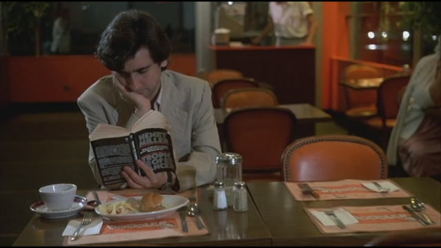 Paul Hackett (Griffin Dunne) nightmare starts innocently enough while reading Henry Millers Tropic of Cancer in a diner in AFTER HOURS