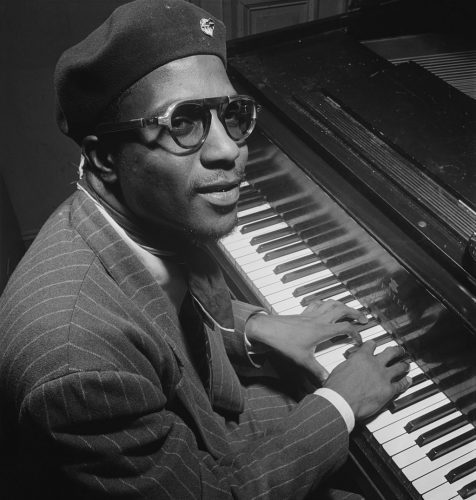 NYC Winter Jazzfest will celebrate one hundredth birthday of Thelonius Monk (photo by William P. Gottlieb)