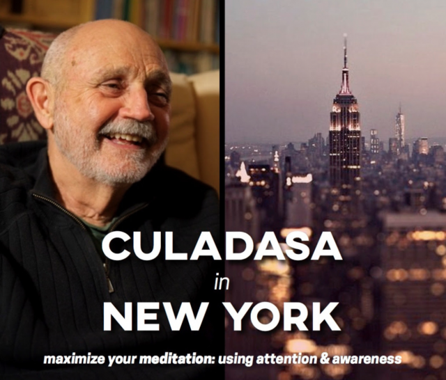 Culadasa in New York