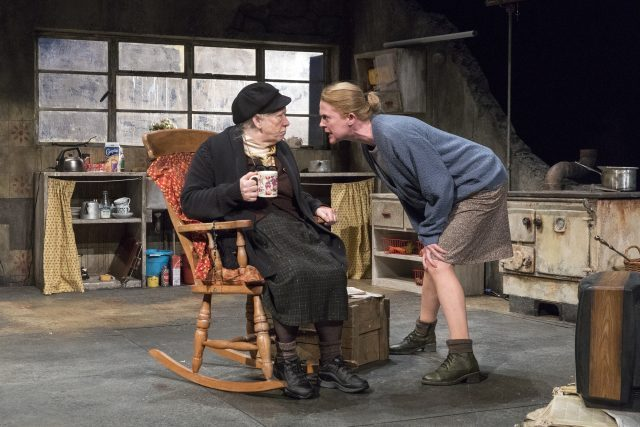 Mother and daughter go at it tooth and nail in THE BEAUTY QUEEN OF LEENANE (photo by Richard Termine)