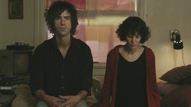 Hamish Linklater and Miranday July contemplate their future