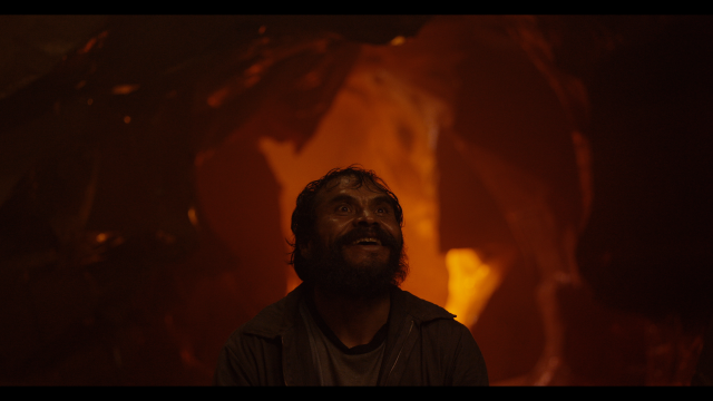 Mariano (Noé Hernandez) rules a bizarre underground lair in WE ARE THE FLESH