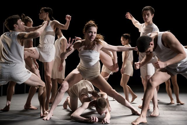 Batsheva Dance Company perform exhilarating LAST WORK at BAM through February 4 (photo by  Julieta Cervantes)