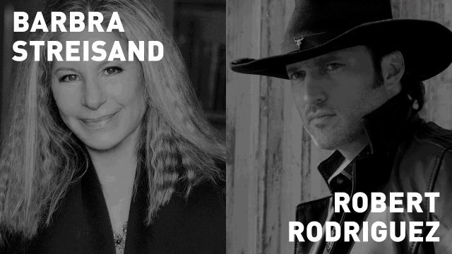 Pen pals Barbra Streisand and Robert Rodriguez will join together in conversation at the Tribeca Film Festival on April 29
