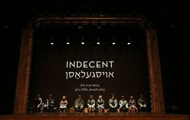 INDECENT takes audiences behind the scenes of controversial drama THE GOD OF VENGEANCE (photo by Carol Rosegg)