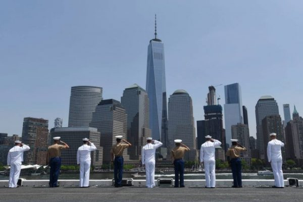 Fleet Week will feature celebrations, commemorations, and memorials May 24-30 in all five boroughs (photo courtesy Fleet Week New York)