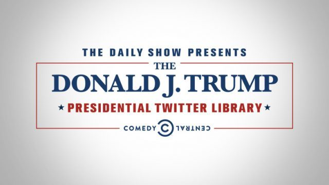 donald j trump presidential twitter library