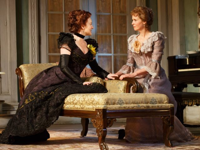 Both Laura Linney and Cynthia Nixon of The Little Foxes are nominated for Drama Desk Awards, but in different categories (photo by Joan Marcus)