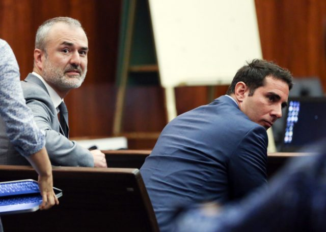 Nick Denton and A. J. Daulerio