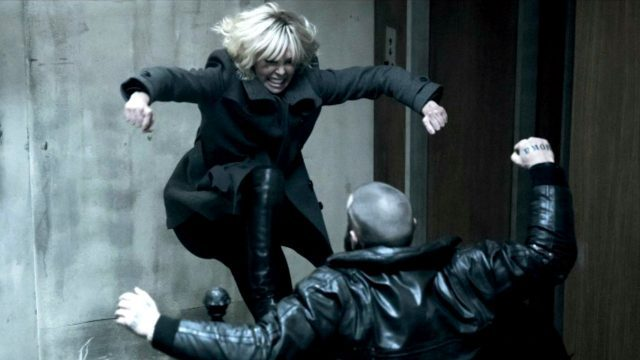 Charlize Theron is a force to be reckoned with at title character in Atomic Blonde